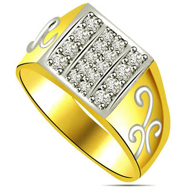 0.36 cts Diamond rings