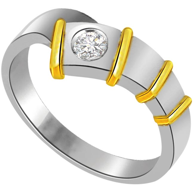 Diamond Solitaire 18K Engagement rings