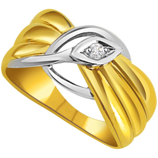 0.03 cts Diamond Solitaire 18K rings
