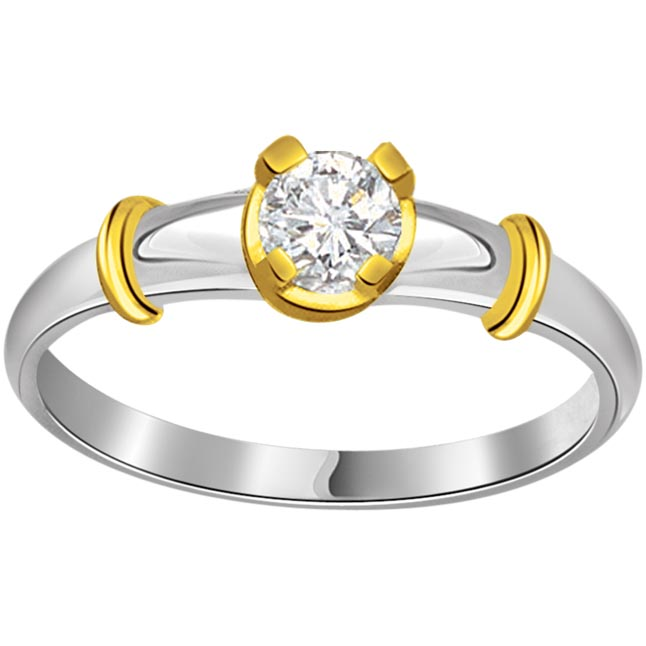 0.10ct Diamond Solitaire 18K Engagement rings