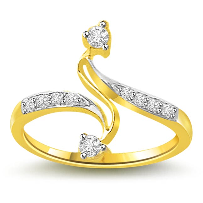 0.15 cts Diamond Designer 18KT rings