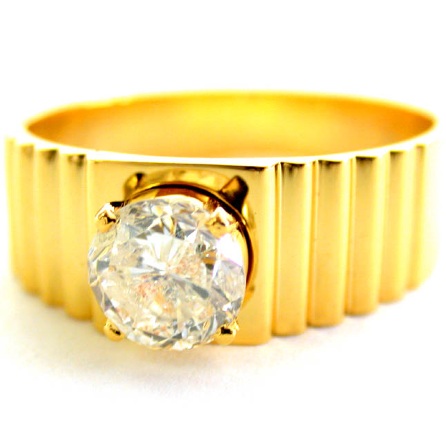 Man Of The Moment    SDR190 -Solitaire rings