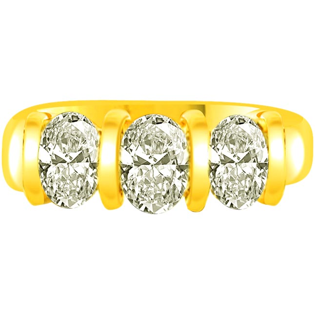 Bold Treasure Classic 0.60 ct G / VVS1 Diamond rings -3 Diamond rings