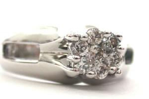 Floral Rediance 0.50 ct G/ VVS1 Diamond Flower Shape rings -Designer