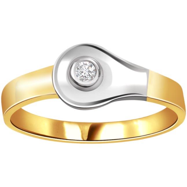 Sweet Decadence Trendy 0.15 ct Diamond Solitaire rings