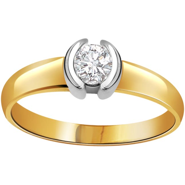Beauty of Paradise Brillint 0.15 ct Diamond Solitaire rings
