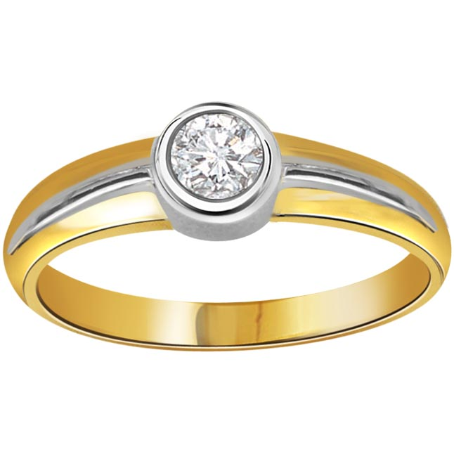 United Forever 0.20 ct Diamond Solitaire rings SDR252