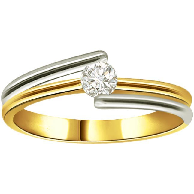 Sunshine Star 0.20 ct Diamond Solitaire rings SDR253