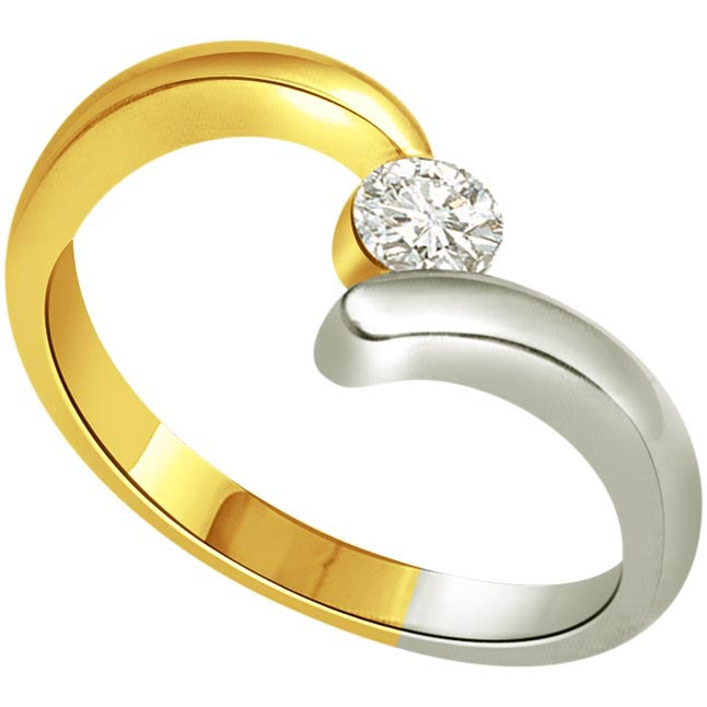 Heat Thief 0.15 ct Diamond Solitaire rings SDR254