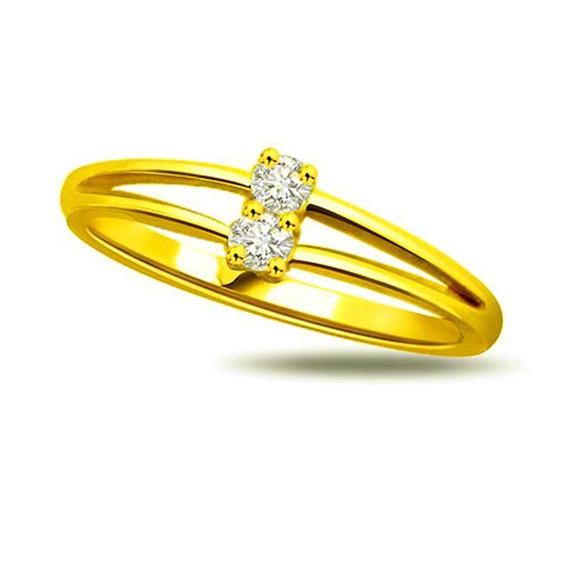 Me & My Love 0.30 ct Diamond Classic rings