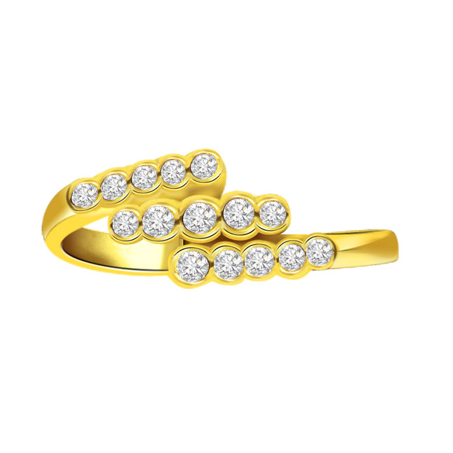 Tingle Tangle 0.45 ct Delightful Diamond rings