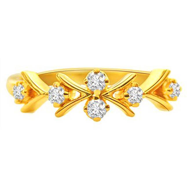 Ziczac Love Fresh n Fine Diamond rings