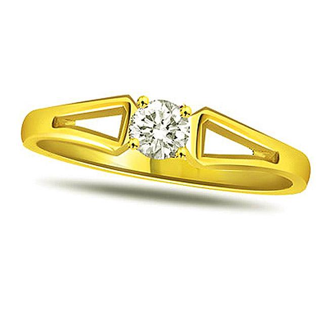 Heart's Desire Diamond Sol rings -18k Engagement rings