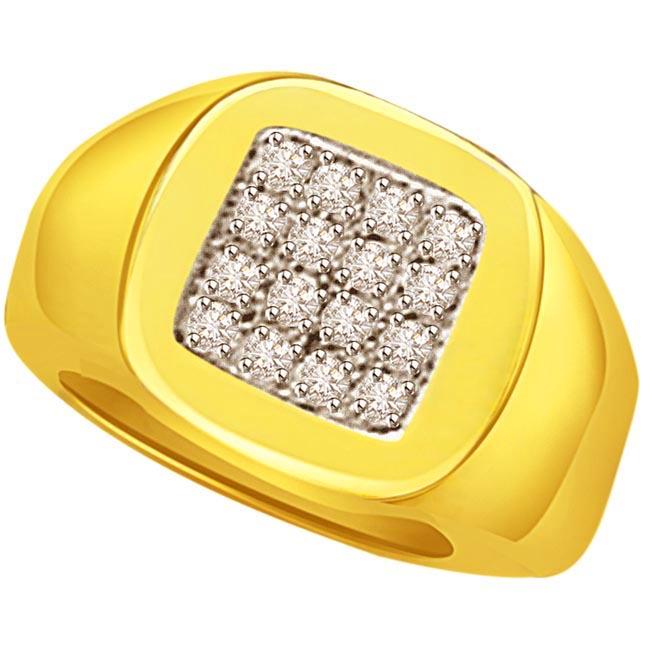 0.64cts Diamond Men's rings