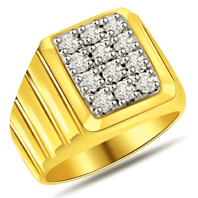 0.60cts Diamond Men's rings