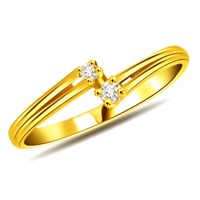 0.40 cts Diamond Classic rings