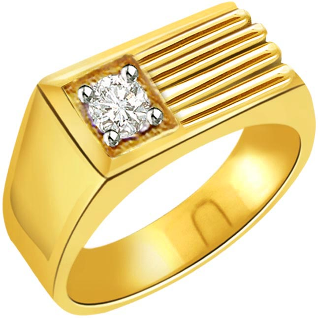 0.20 ct Diamond Men's Solitaire rings SDR360