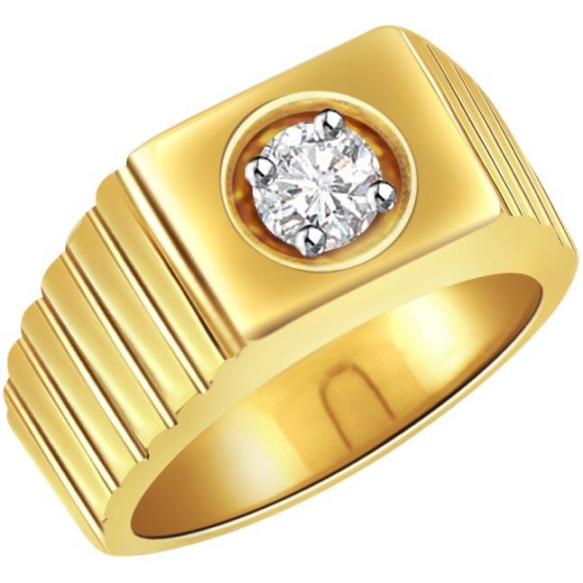 0.20 ct Diamond Men's Solitaire rings SDR361