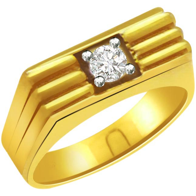 0.20 ct Diamond Men's Solitaire rings -Solitaire rings