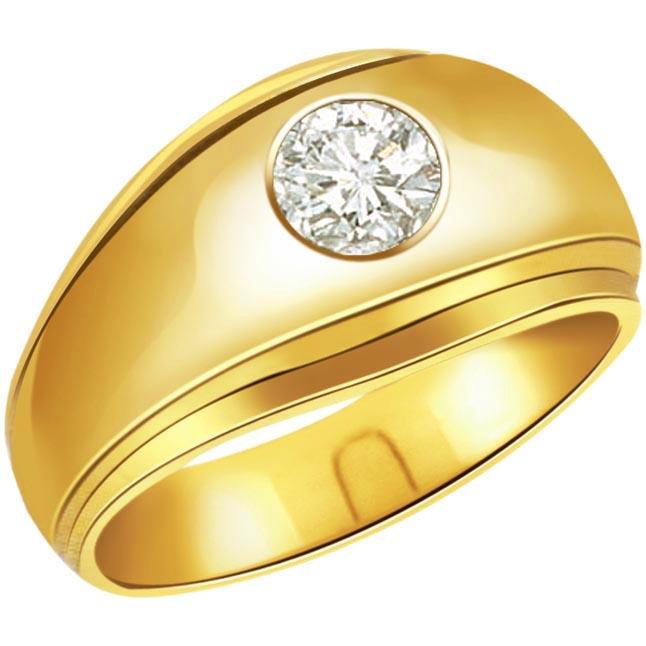 0.20 ct Diamond Men's Solitaire rings SDR382
