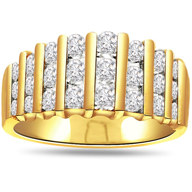 0.24 Ct I,J/ Vs Diamond 18k Gold rings