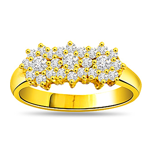 0.81ct Diamond 18kt Gold Fine rings