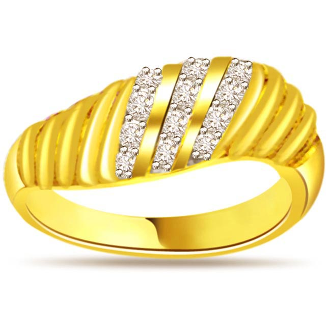 Designer Diamond Gold rings SDR456
