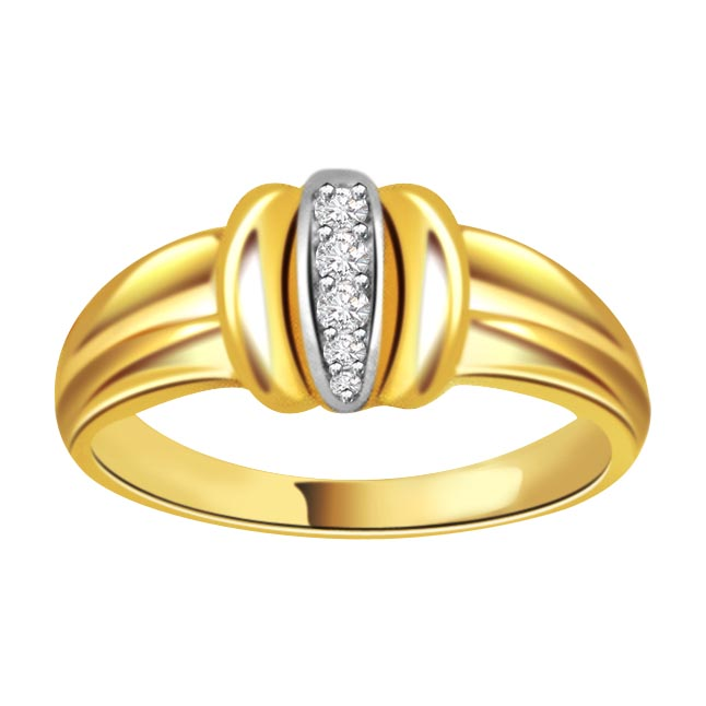 Designer Diamond Gold rings SDR458
