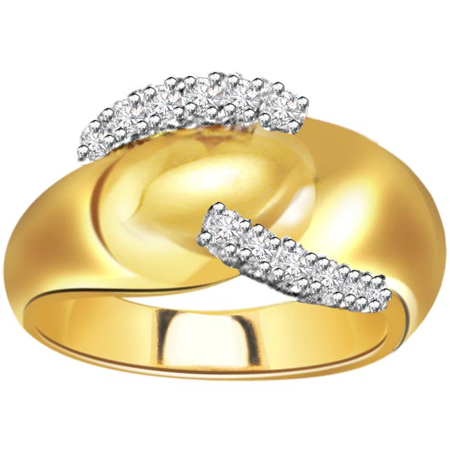 0.50ct Diamond Gold rings SDR461