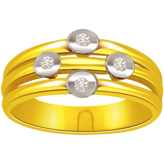 Designer Diamond Gold rings SDR466