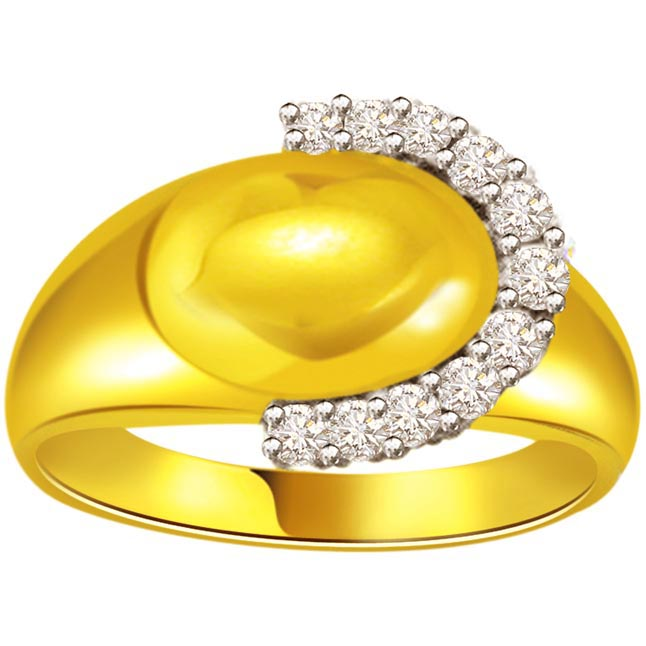 0.55ct Diamond Gold rings SDR469