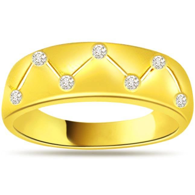 Designer Diamond Gold rings SDR474
