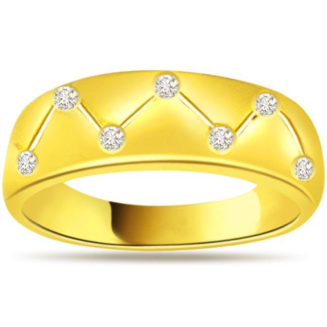 Designer Diamond Gold rings SDR474
