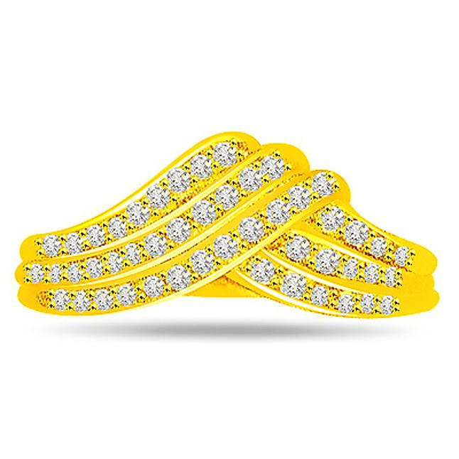 Designer Diamond Gold rings SDR477