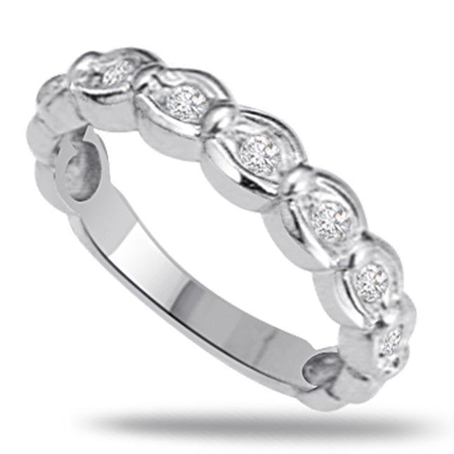 Classic Diamond Gold rings SDR483 -Designer