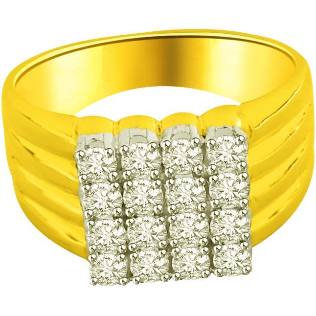 0.64ct Diamond Gold rings