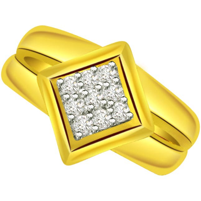 Designer Diamond Gold rings SDR503