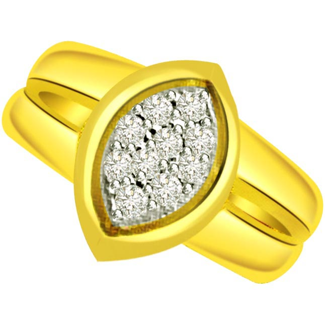 Designer Diamond Gold rings SDR505