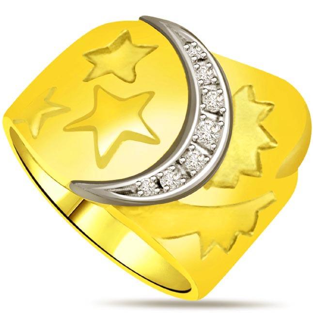Designer Diamond Gold rings SDR525