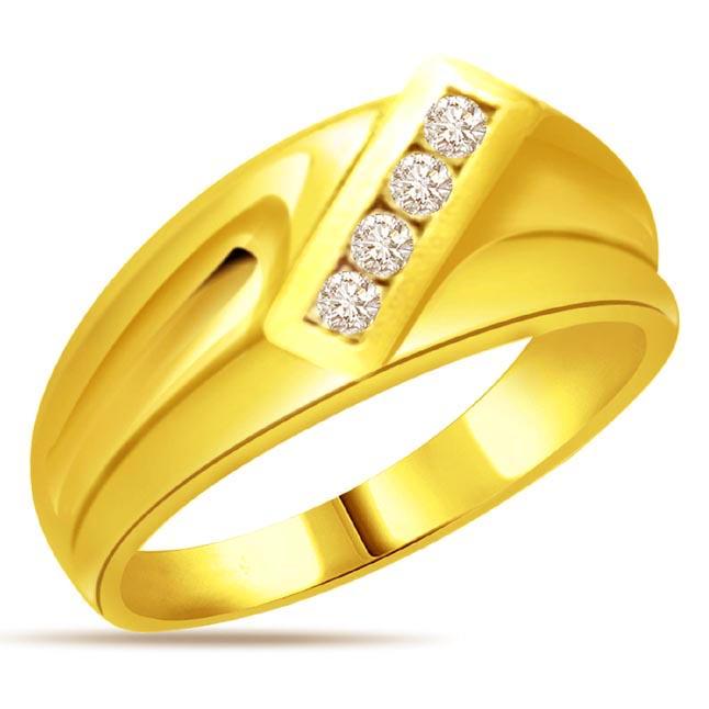 Designer Diamond Gold rings SDR533