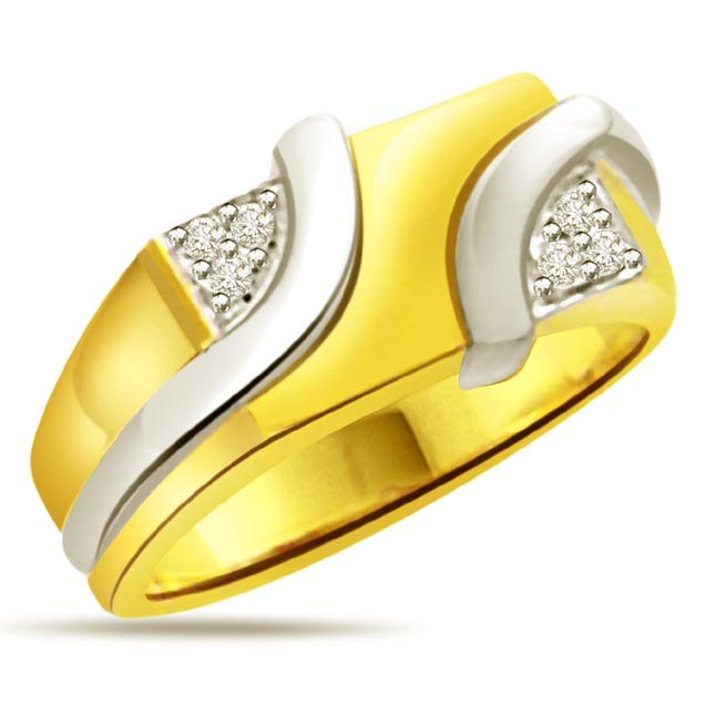 0.12 cts Designer Men's rings
