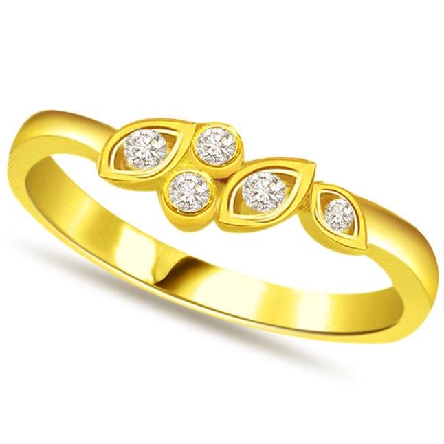 Designer Diamond Gold rings SDR538