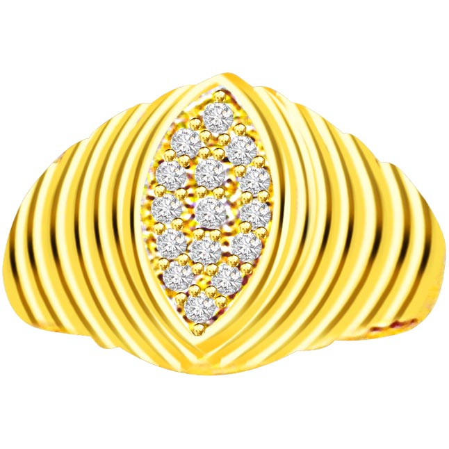 Trendy Diamond 18kt rings SDR543