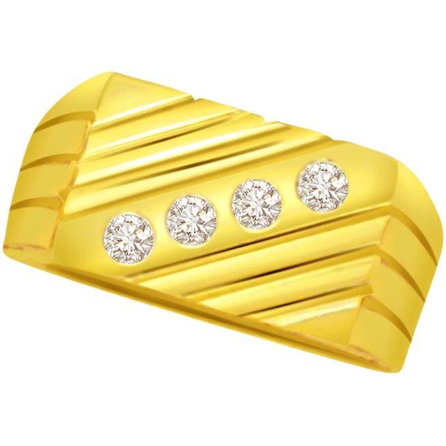 0.16 cts Designer Men's rings