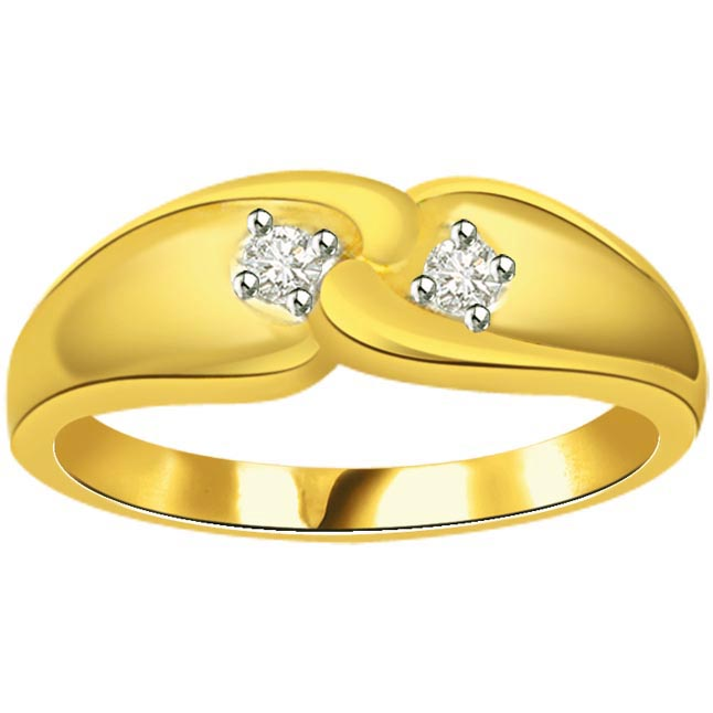Designer Diamond Gold rings SDR552