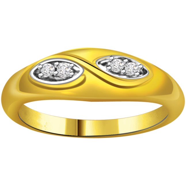 Designer Diamond Gold rings SDR570