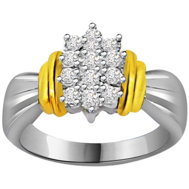 Classic Diamond Gold rings SDR571