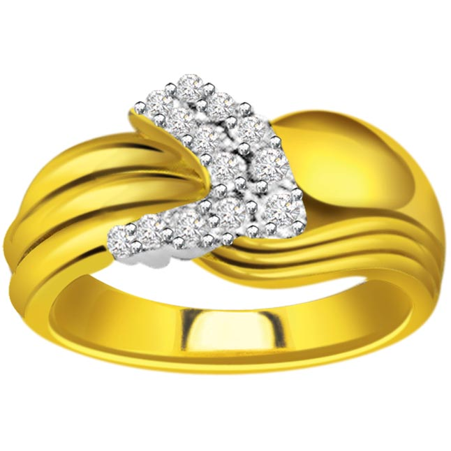 Designer Diamond Gold rings SDR572