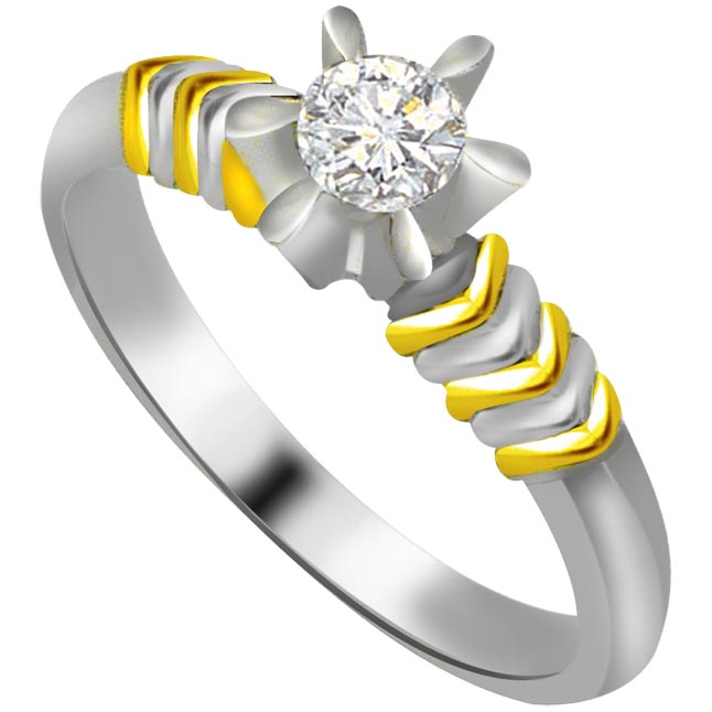 Solitaire Diamond Gold rings SDR578
