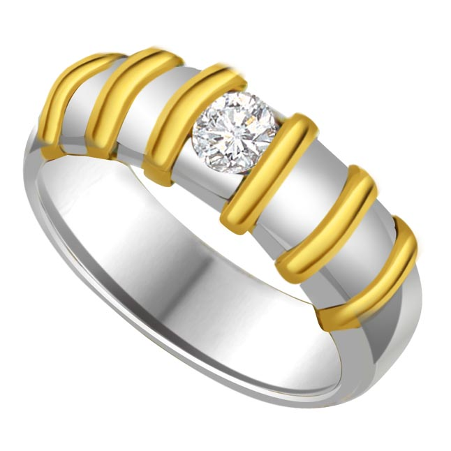 Solitaire Diamond Gold rings SDR603